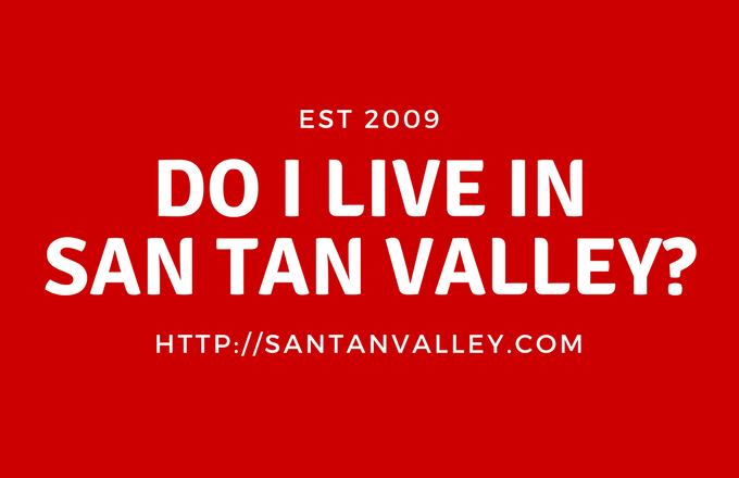 Do I Live in San Tan Valley?
